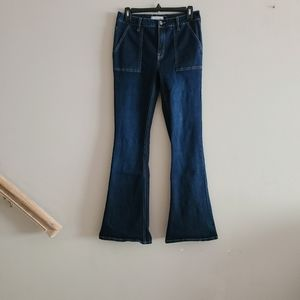 Harper Heritage Mid Rise Flare Jeans 29